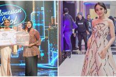 9 Pesona Lyodra juara Indonesian Idol 2020 pamer pundak, memesona