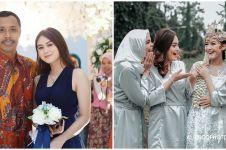 9 Gaya Dwinda istri Mas Pur di nikahan Rinjani TOP, memesona