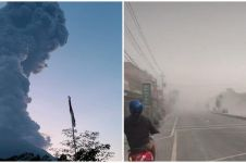 5 Potret suasana Gunung Merapi pascaerupsi 6000 meter