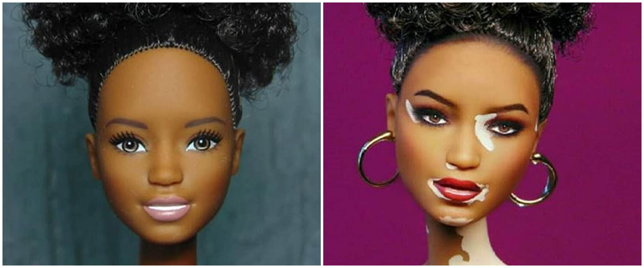 10 Potret boneka barbie didandanin ala artis Hollywood, bikin melongo
