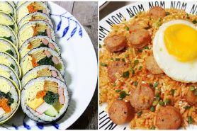 7 Resep olahan nasi ala Korea, enak dan sederhana