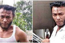 Viral pria berpenampilan mirip 'Wolverine', ini 6 potretnya