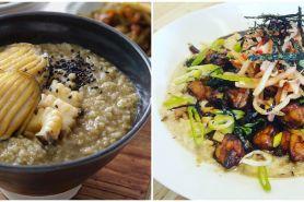 6 Resep bubur sehat ala Korea, enak, mudah, dan sederhana