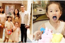8 Momen ulang tahun ke-3 Sheva anak Ussy, aksinya bikin gemas