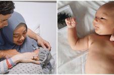 8 Potret bayi Lindswell & Hulaefi, parasnya curi perhatian