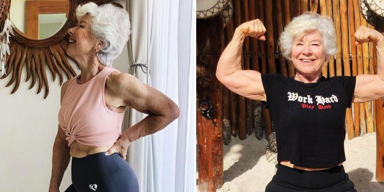 Jalani diet di usia 73 tahun, penampilan nenek ini curi perhatian