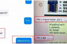10 Chat lucu pembeli online tanya detail barang, kocak
