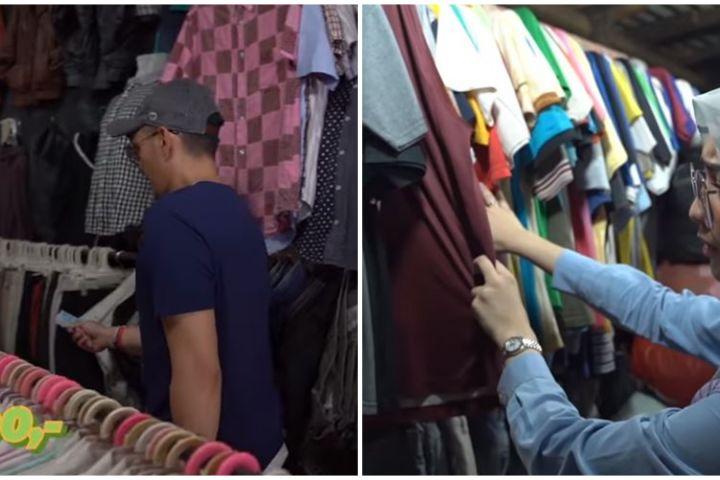 8 Potret Citra Kirana & Rezky belanja di pasar, bajunya Rp 10 ribu