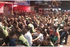 Kronologi bentrokan driver ojek online dengan debt collector di Jogja
