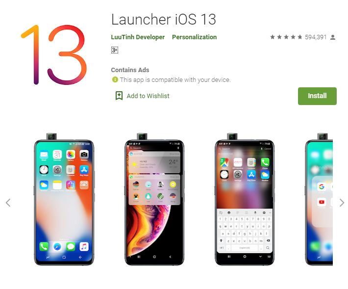4 Cara mnegubah tampilan Android play.google.com