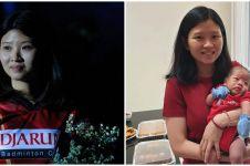 8 Momen Debby Susanto asuh anaknya setelah gantung raket