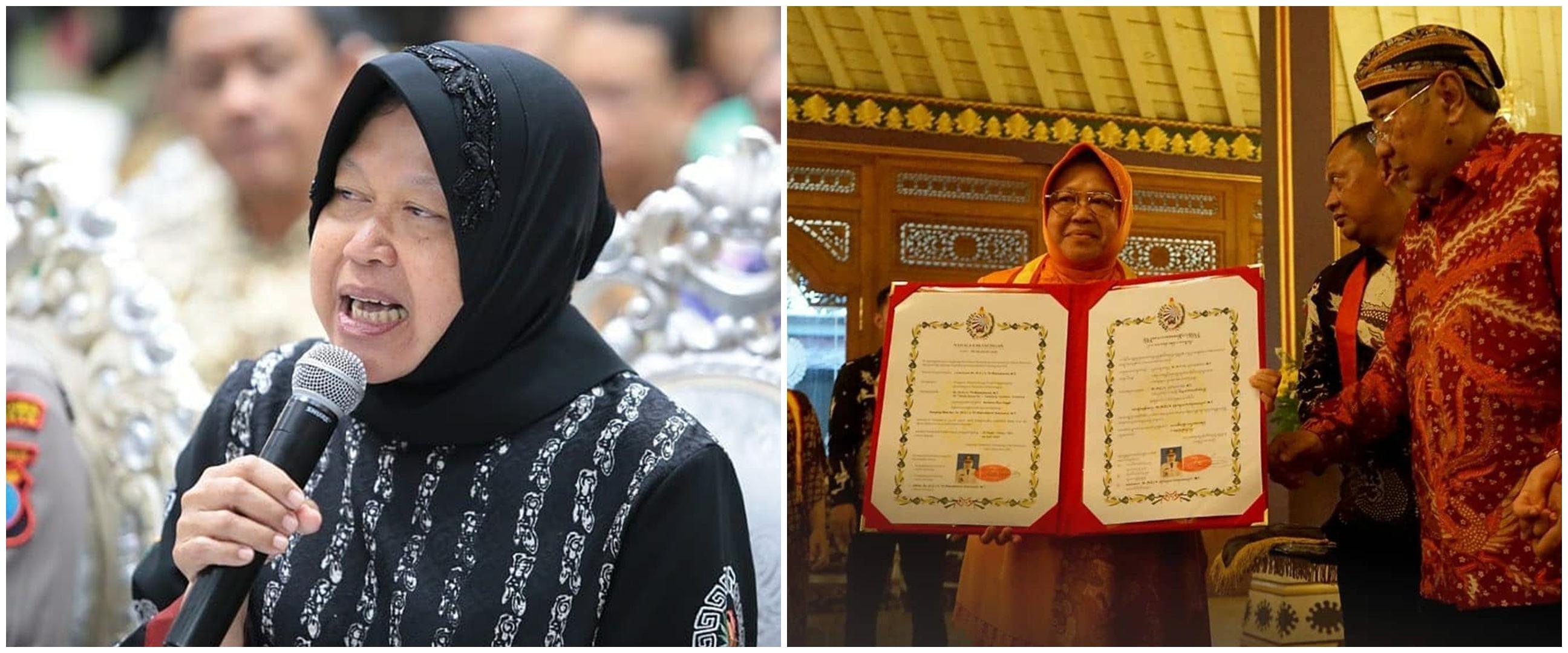 7 Momen Tri Rismaharini terima gelar bangsawan dari Keraton Surakarta