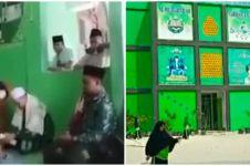 Viral ustaz di Pondok Pesantren Pekanbaru kena amukan wali murid