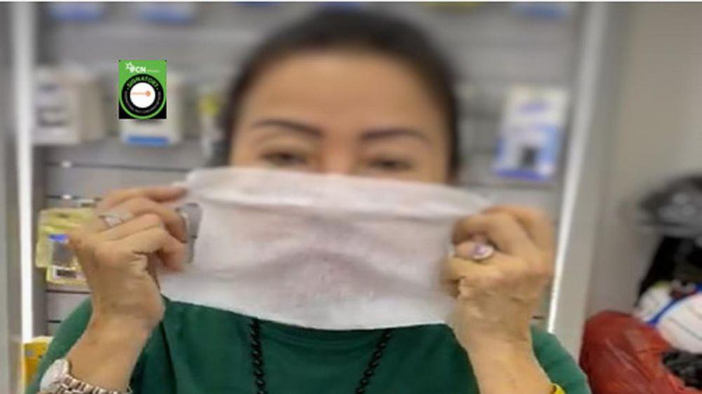 Viral tutorial tisu basah jadi pengganti masker, ini kata dokter © 2020 liputan6.com
