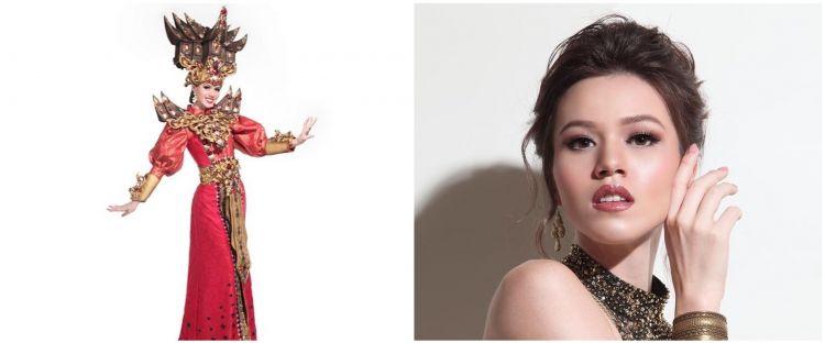 9 Foto Kalista Iskandar finalis Putri Sumbar disorot karena Pancasila