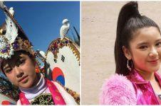 6 Potret memukau Tiara Idol jadi model Jember Fashion Carnaval
