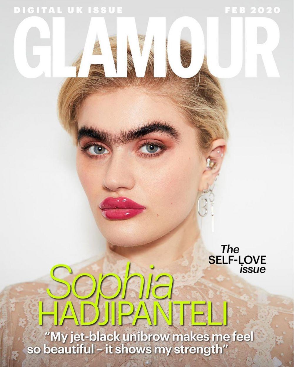 Model di cover majalah ini ubah persepsi standar kecantikan Instagram