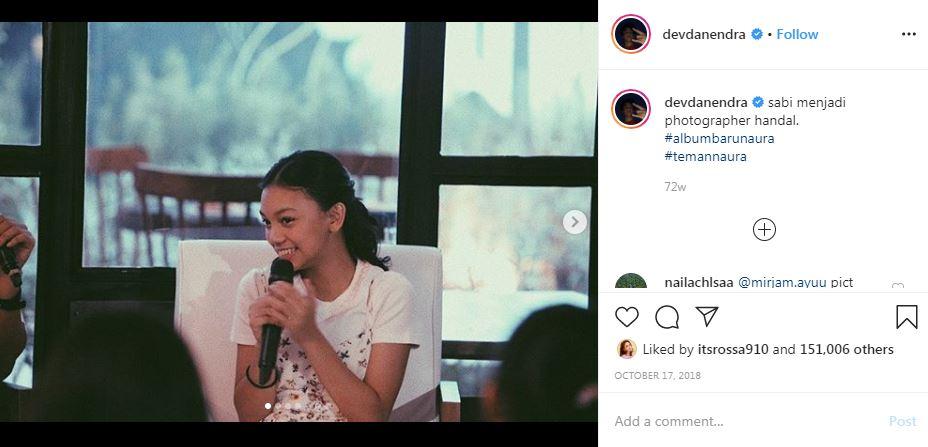 7 Momen kedekatan Naura & Devano Instagram