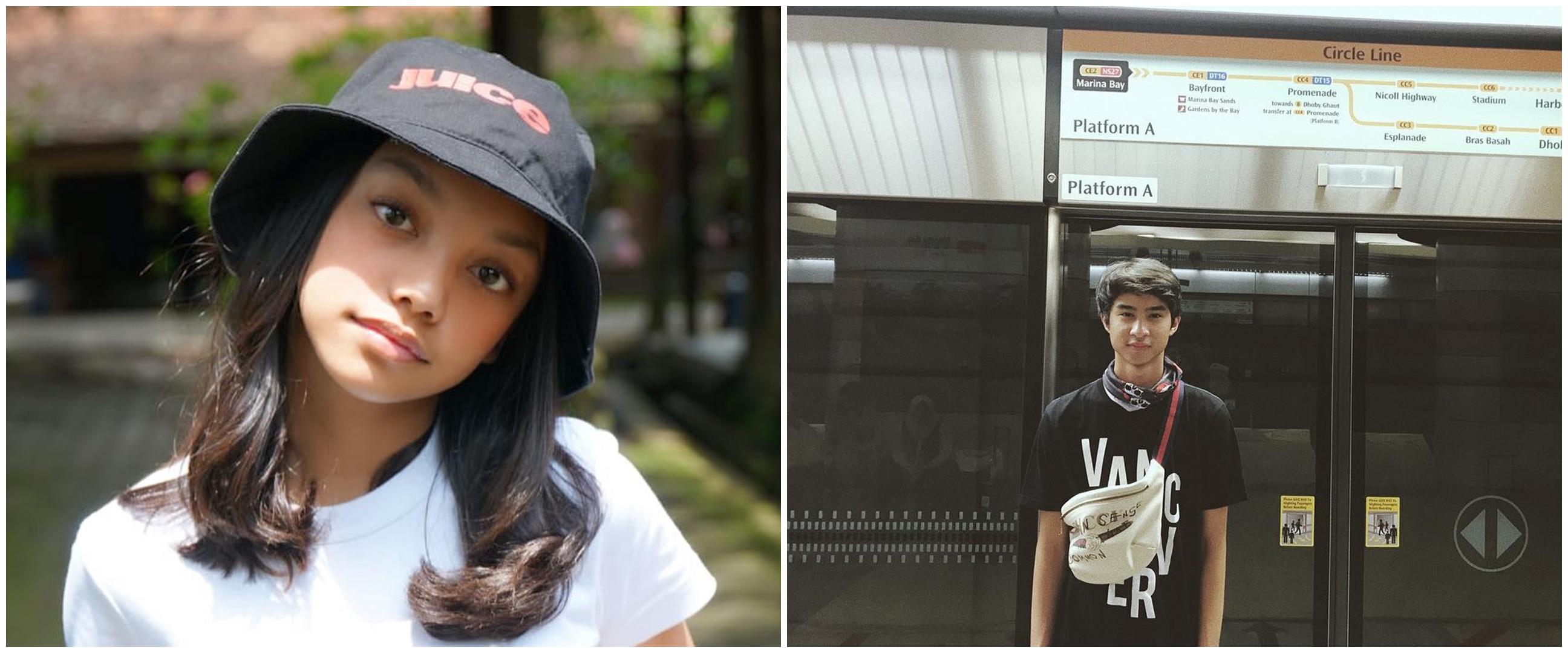 7 Momen kedekatan Naura & Devano anak Iis Dahlia, main film bareng
