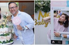 9 Momen baby shower anak ke-4 Mona Ratuliu, dapat surprise