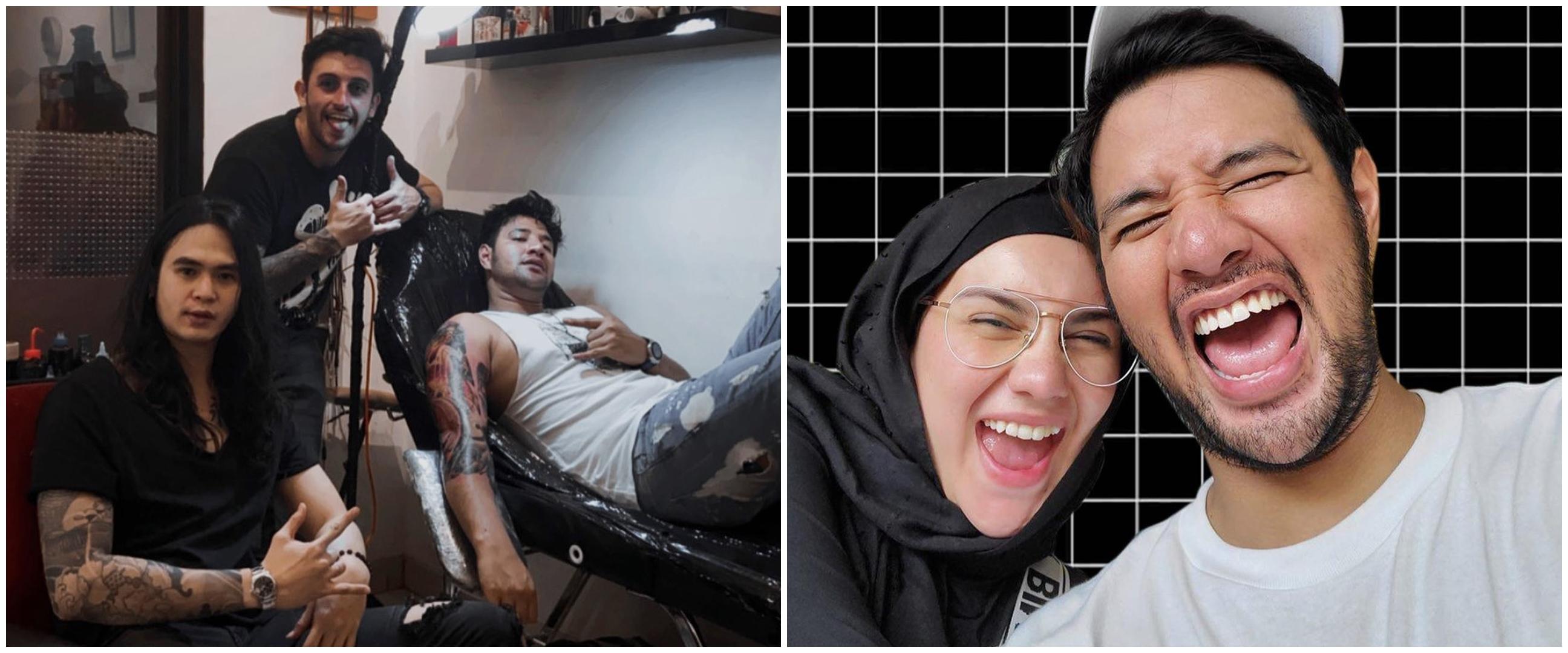 11 Momen Ammar Zoni nge-prank Irish Bella pakai tato