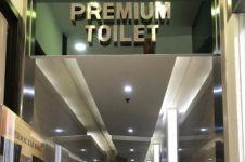 Viral toilet mewah di mal tarifnya Rp 7.500, jadi sorotan warganet