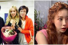7 Momen kebersamaan Taeyeon dan sang ayah, umbar senyum ramah