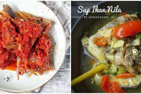 11 Resep olahan ikan nila lezat, mudah, dan bikin nagih