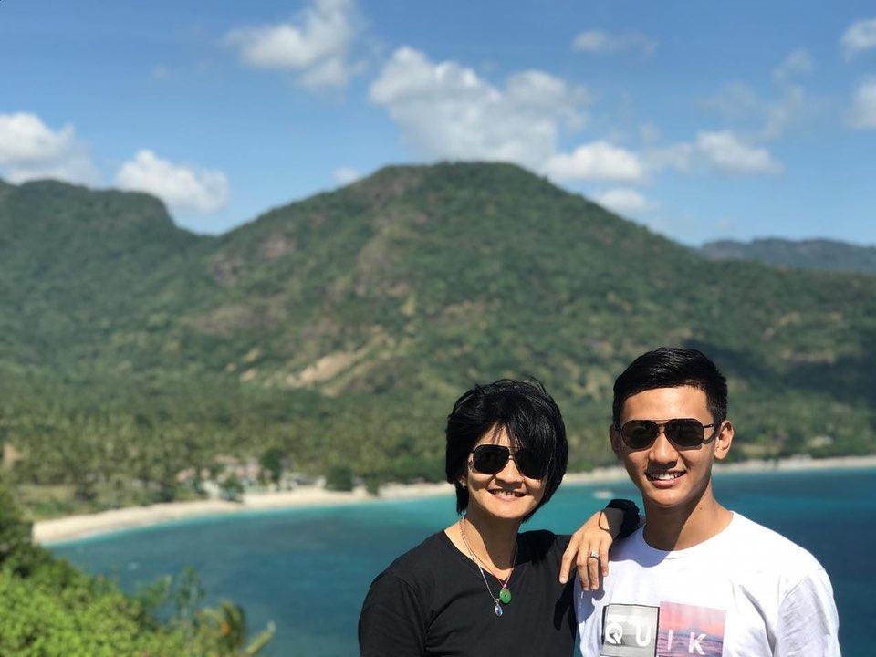 10 Pesona Alfin Daniel, atlet voli yang curi perhatian Ayu Ting Ting Instagram