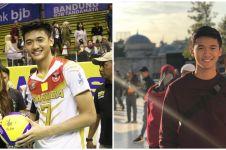 10 Pesona Alfin Daniel, atlet voli mencuri perhatian Ayu Ting Ting