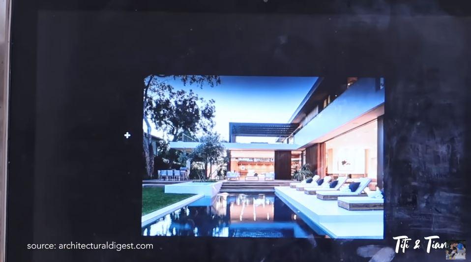 7 Potret desain rumah baru Titi Berbagai sumber