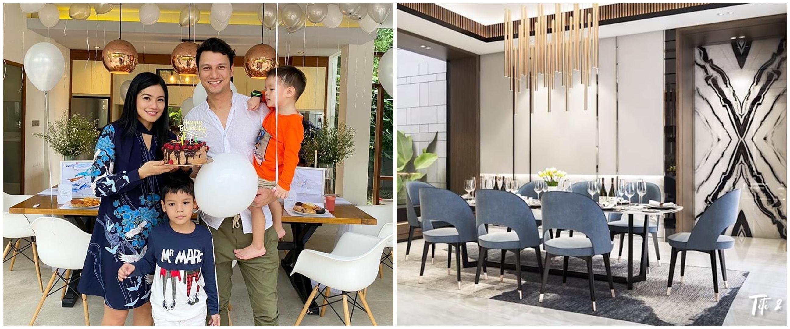 7 Potret desain rumah baru Titi Kamal, mewah bak hotel