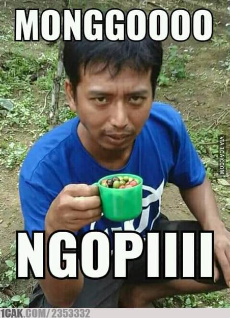 Meme Minum Kopi 1cak.com