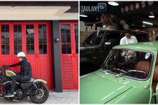 10 Potret garasi mewah Andre Taulany, koleksinya bikin melongo
