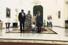 Sedah Mirah cucu Jokowi ikut sambut kedatangan Ratu Belanda, gemesin