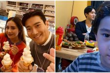 7 Momen Siwon berkunjung ke rumah Raffi Ahmad, bikin iri