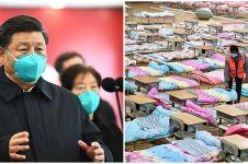Presiden Xi Jinping untuk pertama kali ke Wuhan sejak Corona mewabah