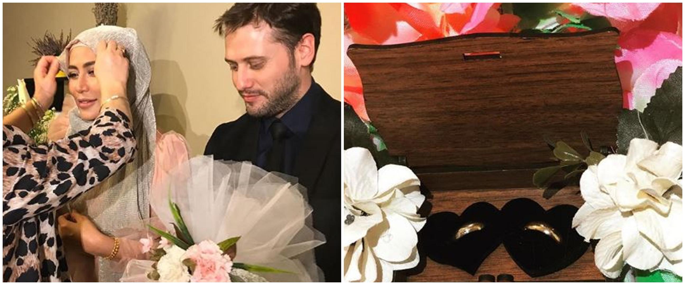 7 Momen Cinta Penelope & suami usai nikah, penuh kebahagiaan