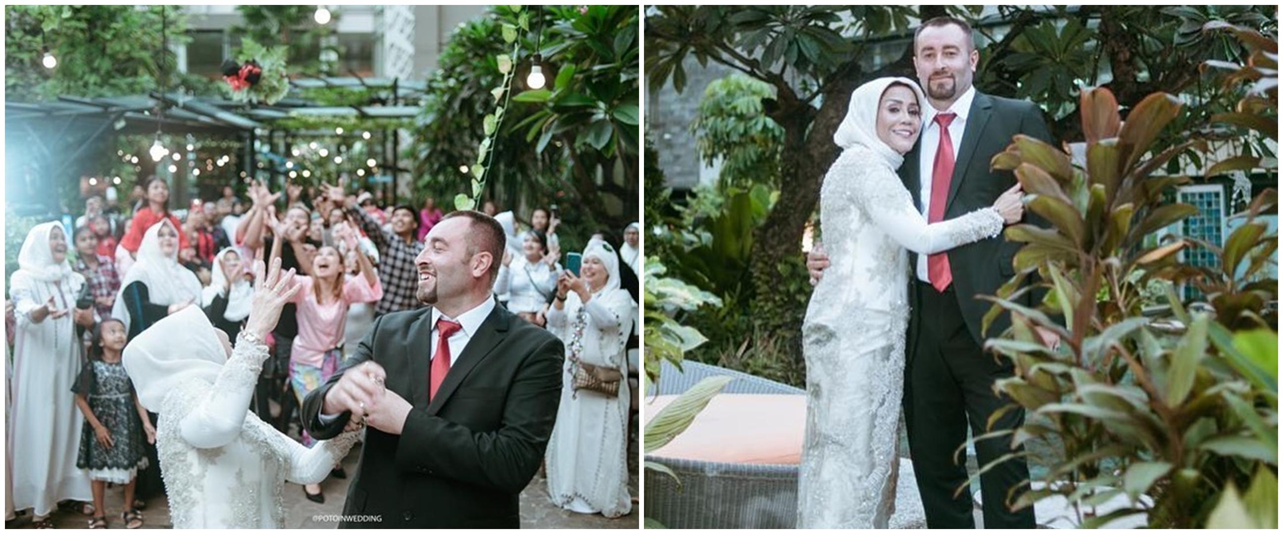 5 Momen pernikahan kedua ibu Vicky Prasetyo dengan pria Turki
