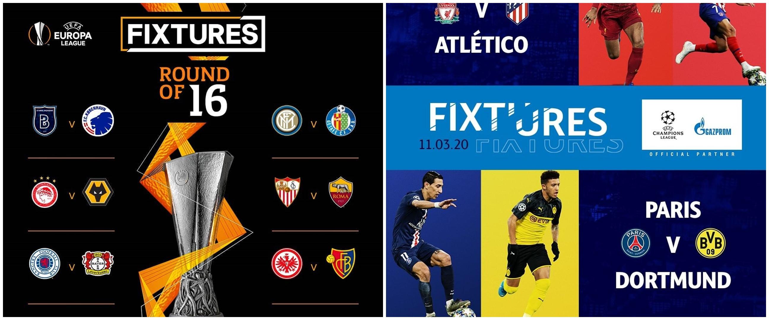 Darurat Corona, 4 liga top Eropa digelar tanpa penonton hingga ditunda
