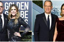 7 Momen kebersamaan Tom Hanks & istrinya, selalu romantis