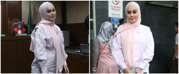 6 Gaya Jennifer Dunn hadiri sidang kasus korupsi Wawan