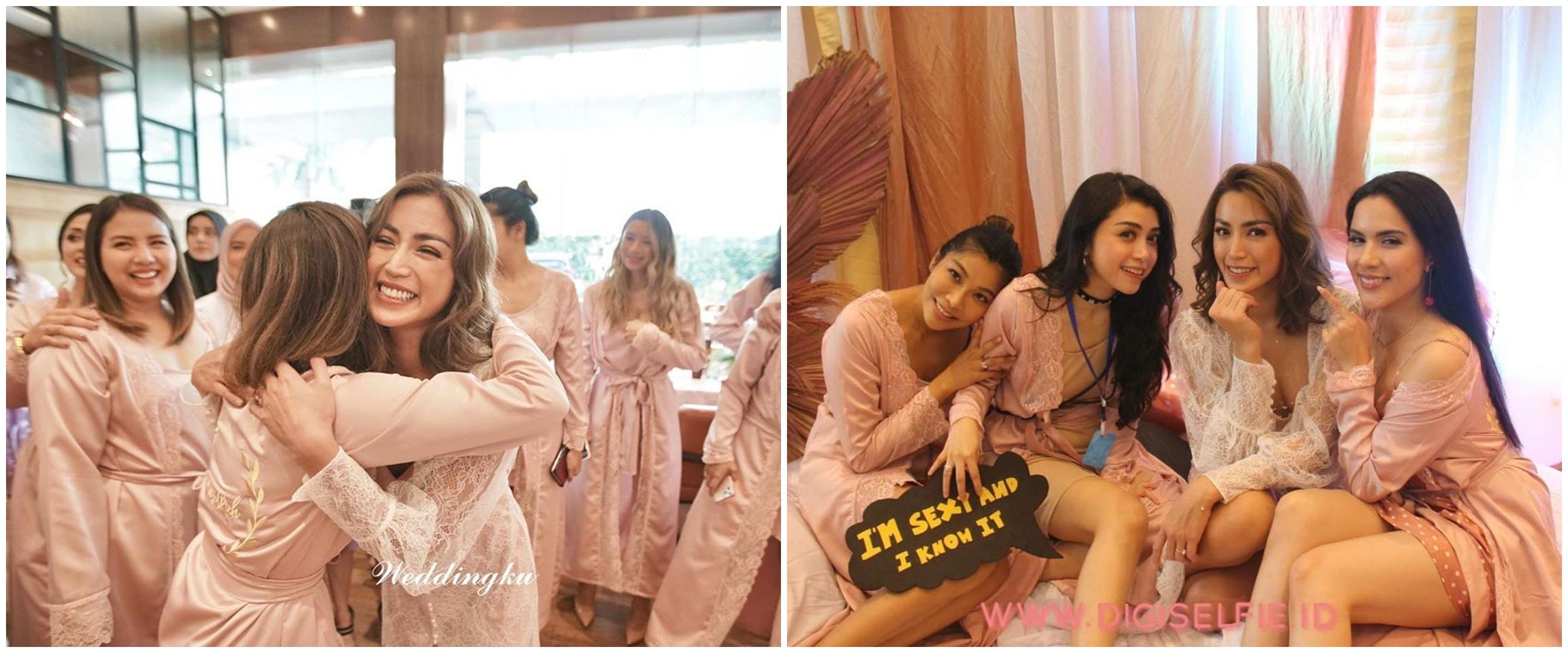 10 Potret bridal shower Jessica Iskandar bareng geng artis