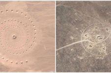 25 Tempat mengagumkan di dunia yang tertangkap Google Earth
