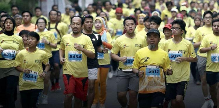 Virus Corona, Iluni UI optimis gelar marathon di jalur steril & hijau