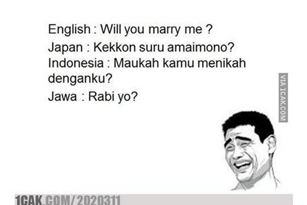 6 Meme bahasa Jawa yang bikin kamu nyengir kesel