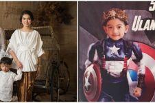 9 Momen ulang tahun Jan Ethes ke-4, bertema Captain America