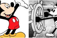 Perubahan 7 tokoh kartun dari masa ke masa, nggak banyak disadari