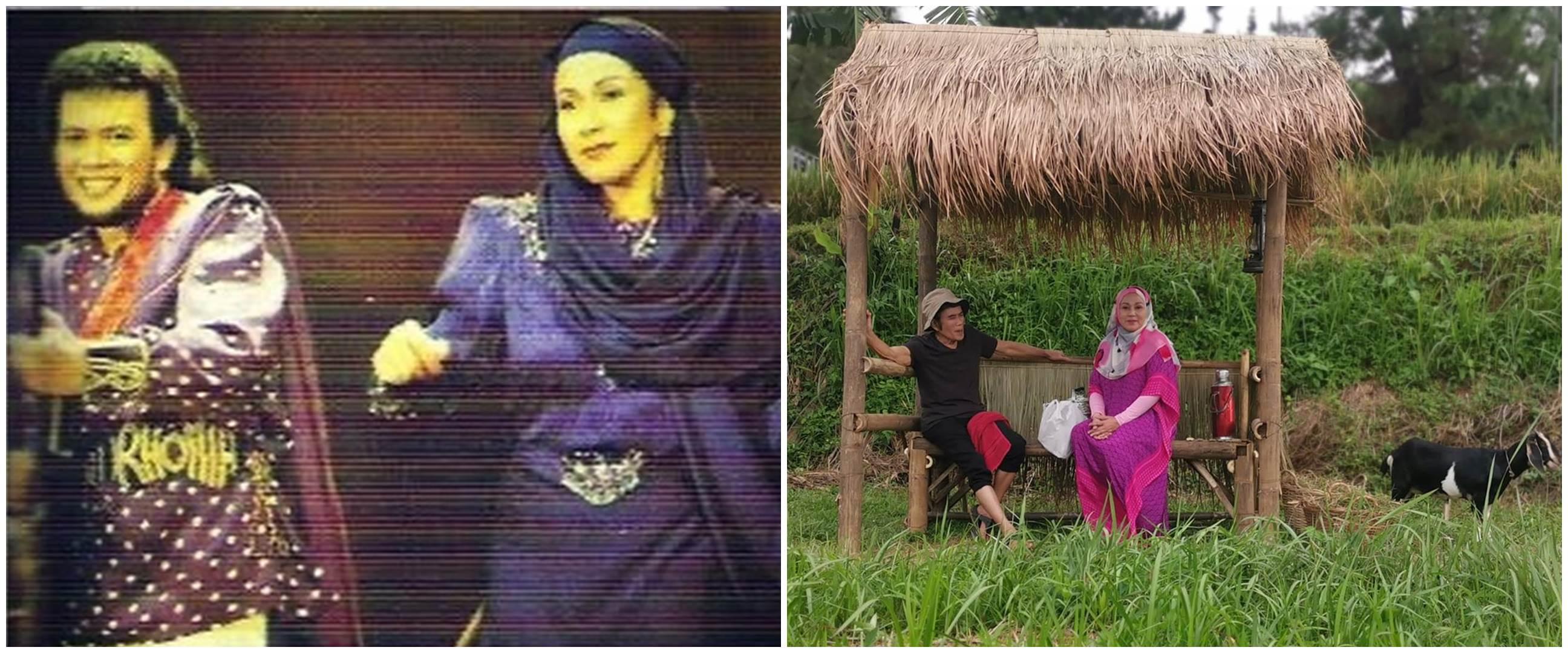 7 Foto Camelia Malik-Rhoma Irama syuting bareng usai 33 tahun