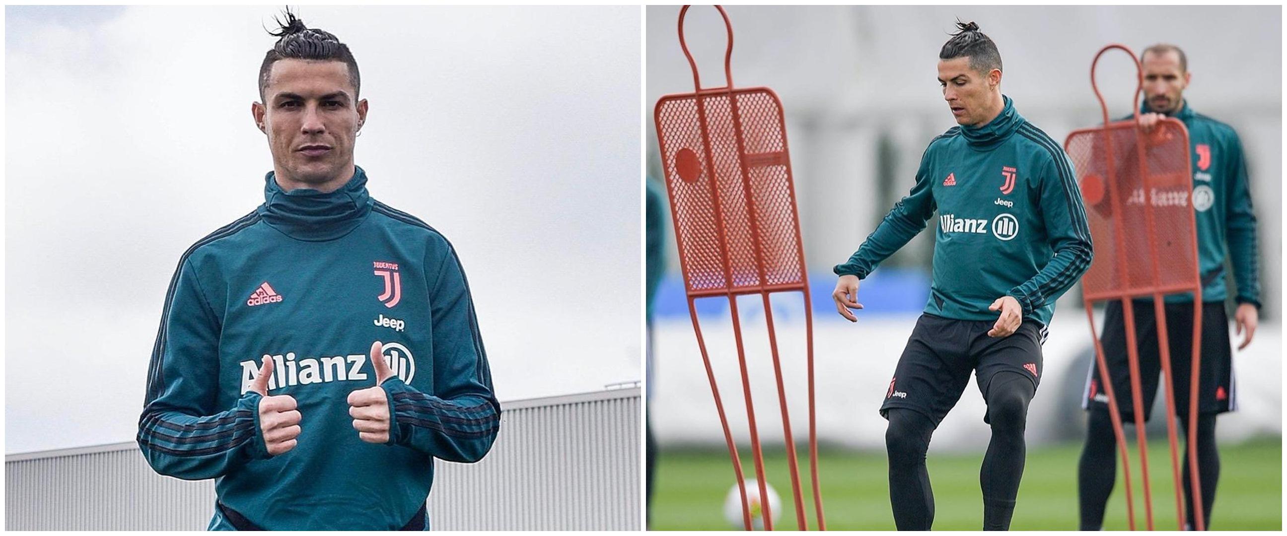 Daniele Rugani positif Corona, Cristiano Ronaldo tulis pesan menyentuh